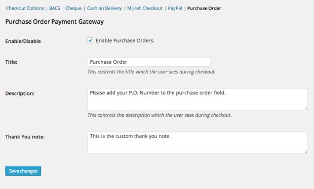 4 10 - WooCommerce Purchase Order Gateway