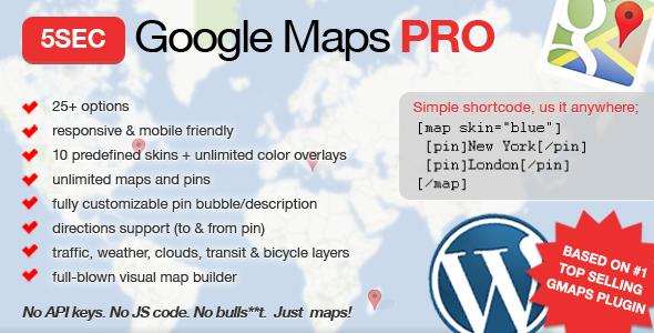 5sec - 5sec Google Maps PRO