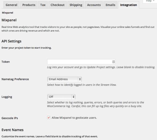 Уже используете Mixpanel?Легко настраивать имена событий и свойств в соответствии с вашими существующими данными