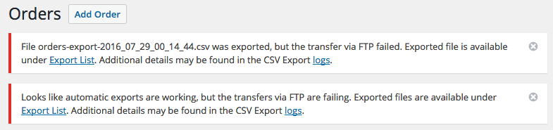 9 - WooCommerce Customer / Order CSV Export