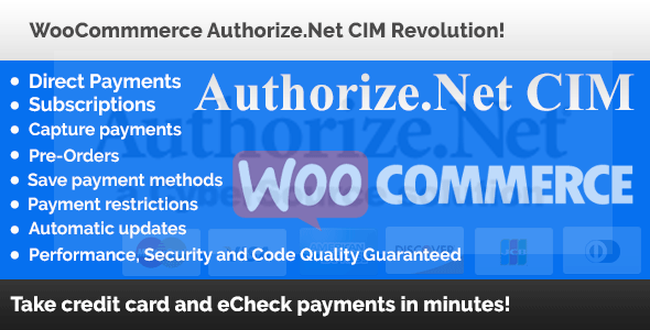 Authorize.Net CIM - Authorize.Net CIM