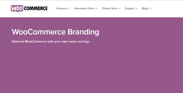 Branding - WooCommerce Branding