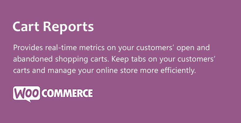 Cart - Cart Reports