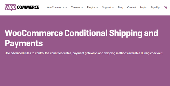 Conditional - Conditional Shipping and Payments