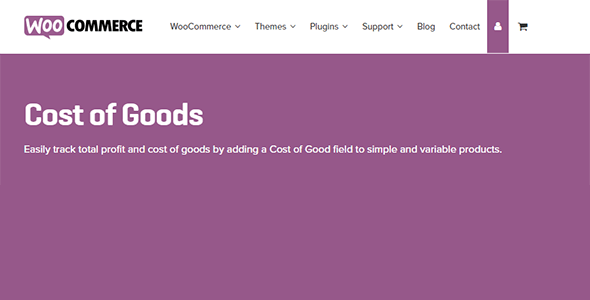Cost - Cost of Goods