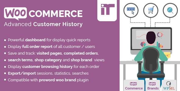 Customer - WooCommerce Customer History