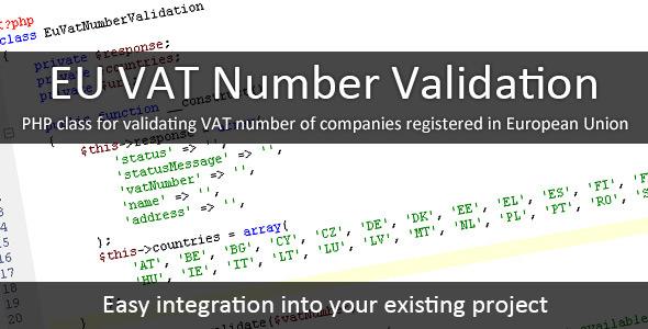 EU VAT Number 1 - EU VAT Number