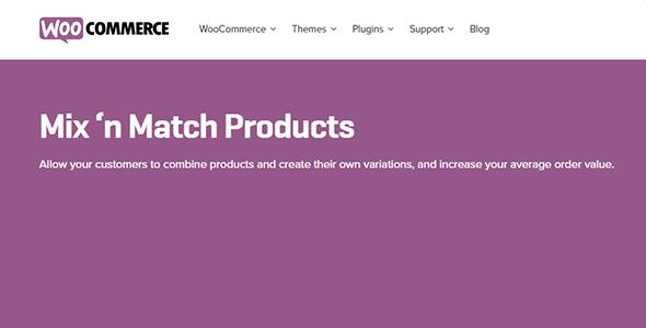 Mix and Match Products - Mix and Match Products