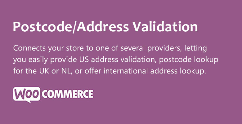 Postcode - Postcode/Address Validation