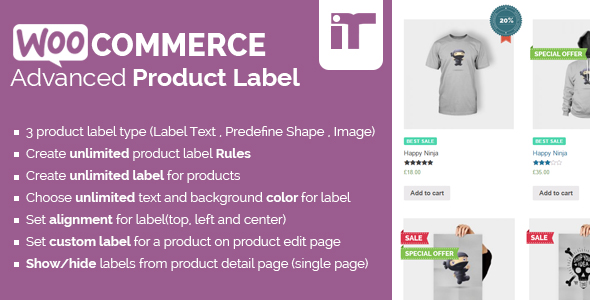 WooCommerce Advanced Product Labels - WooCommerce Advanced Product Labels