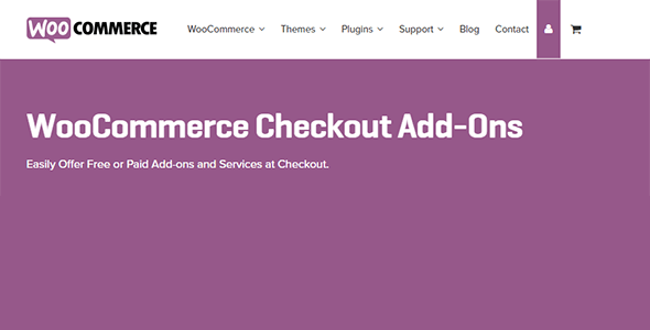 WooCommerce Checkout Add Ons - WooCommerce Checkout Add-Ons