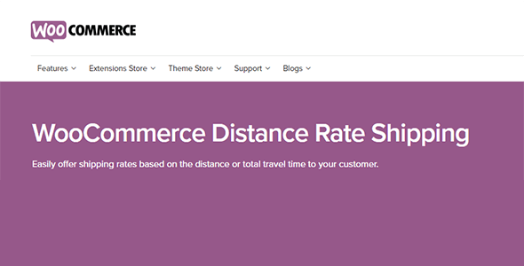 WooCommerce Distance Rate Shipping - WooCommerce Distance Rate Shipping