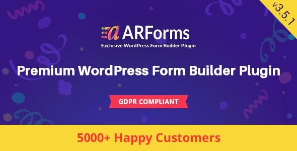 arforms - ARForms: Wordpress Form Builder Plugin