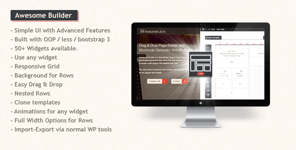 awesome - Awesome Builder - Drag & Drop Page Builder