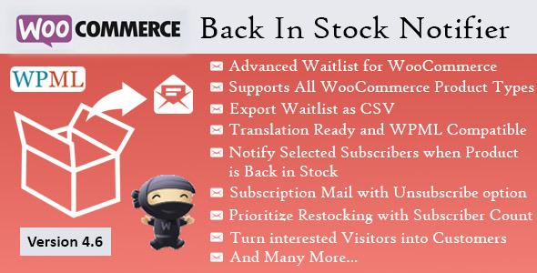 back - Back In Stock Notifier - WooCommerce Waitlist Pro