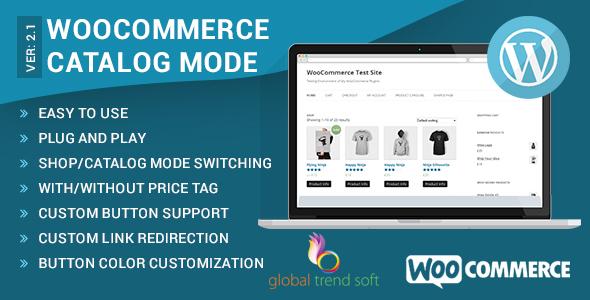 catalog - WooCommerce Catalog Mode
