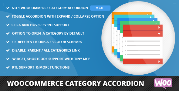 category - WooCommerce Category Accordion
