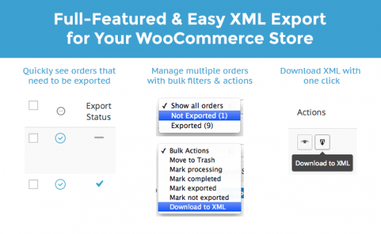 customerorder - WooCommerce Customer / Order XML Export Suite