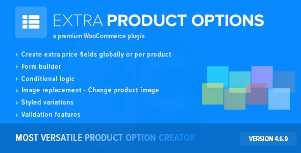 extra - WooCommerce Extra Product Options
