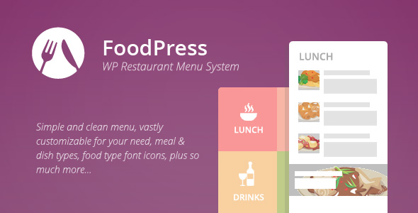 foodpress - foodpress - Restaurant Menu & Reservation Plugin