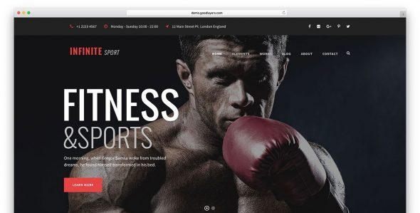 infinite fitness wordpress website template e1536861325553 - Fitness