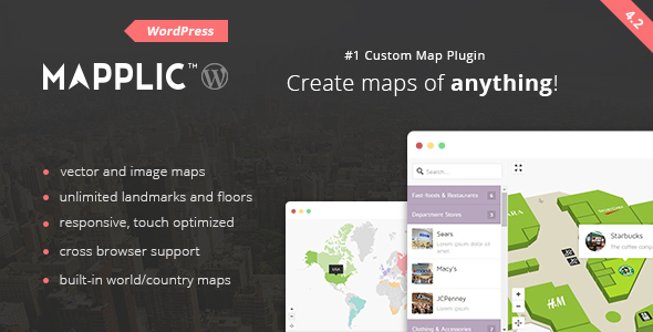 mapplic - Mapplic - Custom Interactive Map WordPress Plugin
