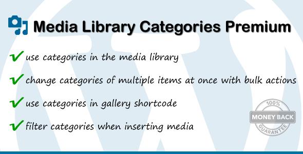 media - Media Library Categories Premium