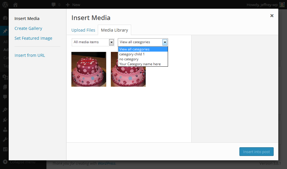 media4 - Media Library Categories Premium