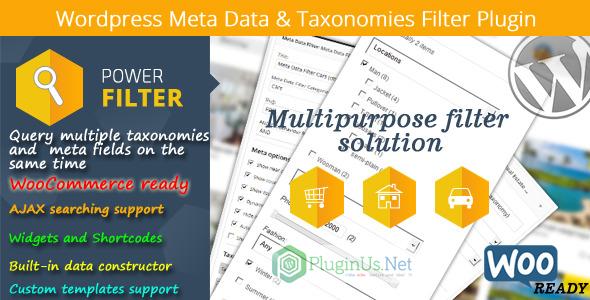 meta - Wordpress Meta Data & Taxonomies Filter