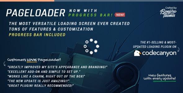 pageloader - PageLoader: Loading Screen and Progress Bar for WordPress