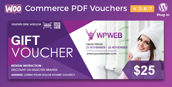 pdf - WooCommerce PDF Vouchers - WordPress Plugin