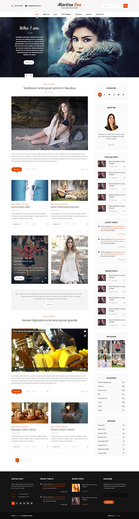 personal wordpress theme1 1 - Сharacter