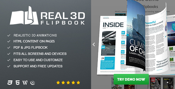 real3d - Real3D FlipBook WordPress Plugin