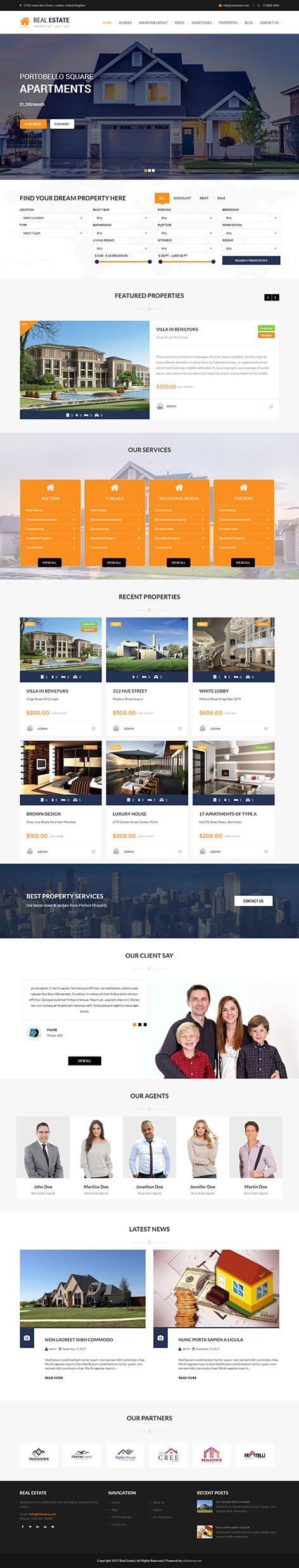 realestate screen 1 - Real Estate