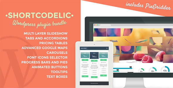 shortcodelic - Shortcodelic - Wordpress Plugin Bundle