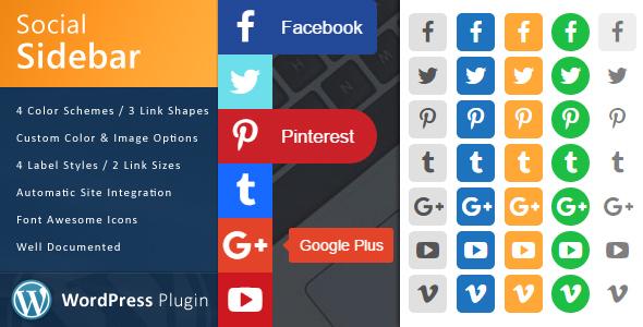 sidebar - WordPress Social Sidebar