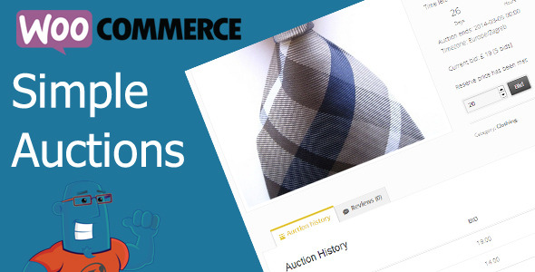simple - WooCommerce Simple Auctions - WordPress Auctions