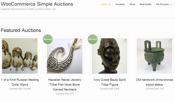 simple2 - WooCommerce Simple Auctions - WordPress Auctions