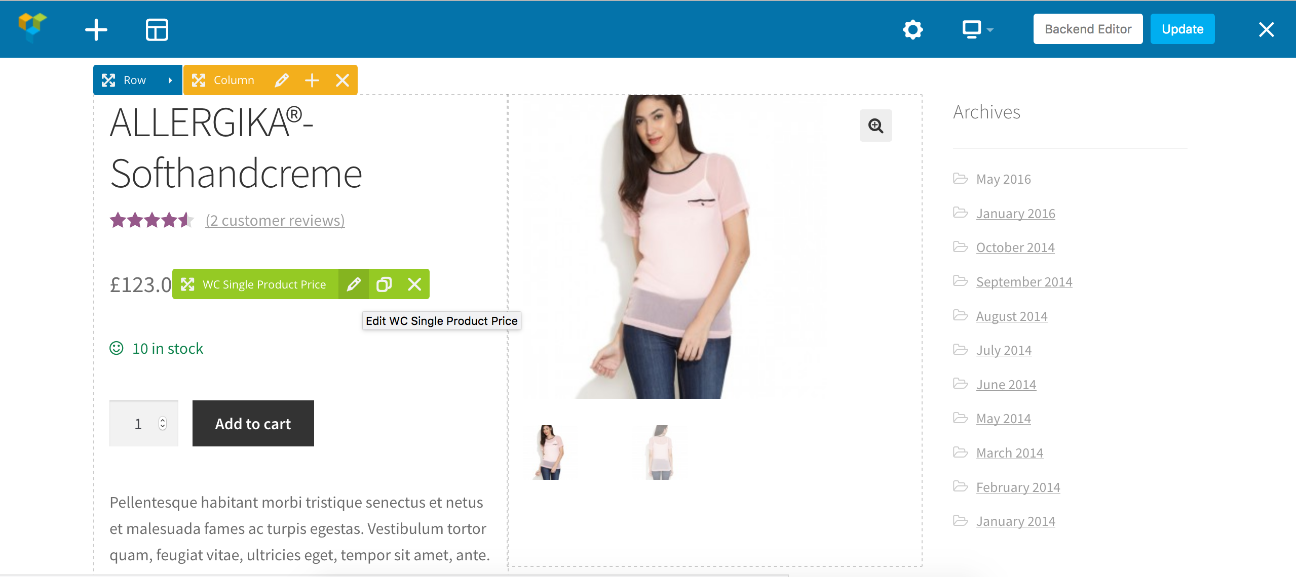 single2 - WooCommerce Single Product Page Builder