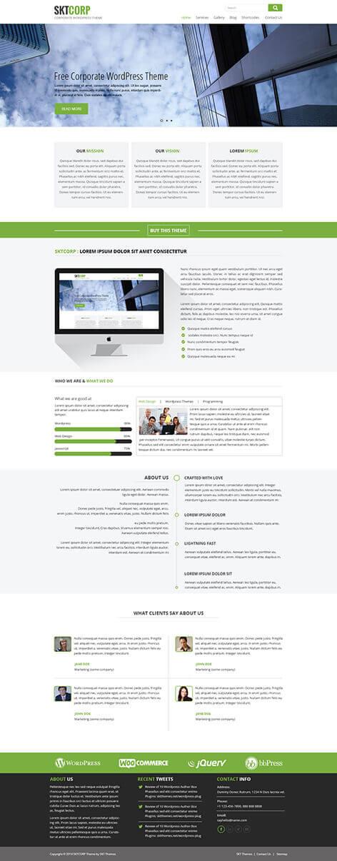 sktcorp screen - SKT Corp