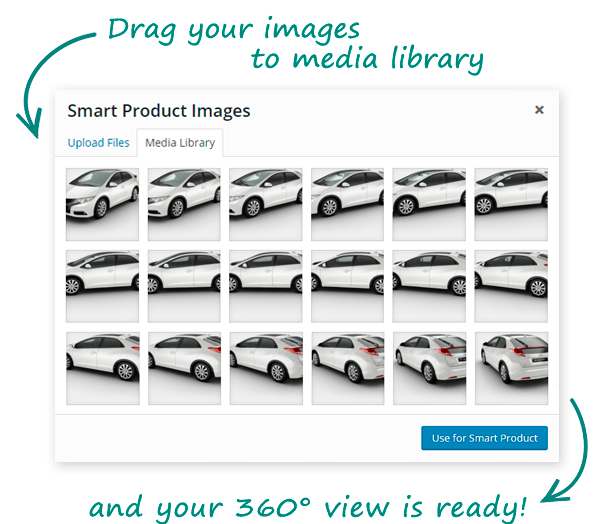 smart3 - Smart Product Viewer - 360º Animation Plugin