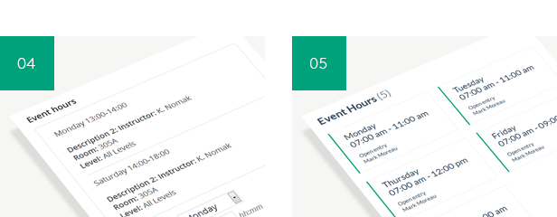 timetable7 - Timetable Responsive Schedule For WordPress