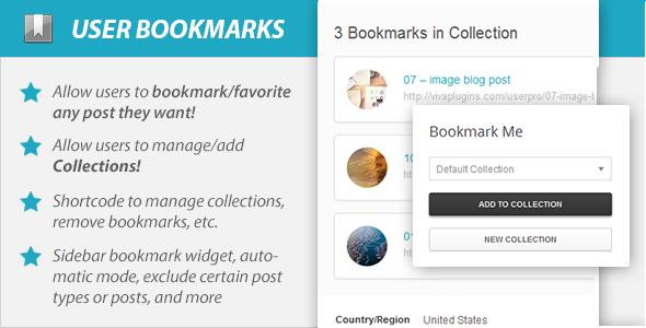 user - WordPress User Bookmarks (Standalone version)