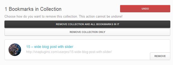user8 - WordPress User Bookmarks (Standalone version)