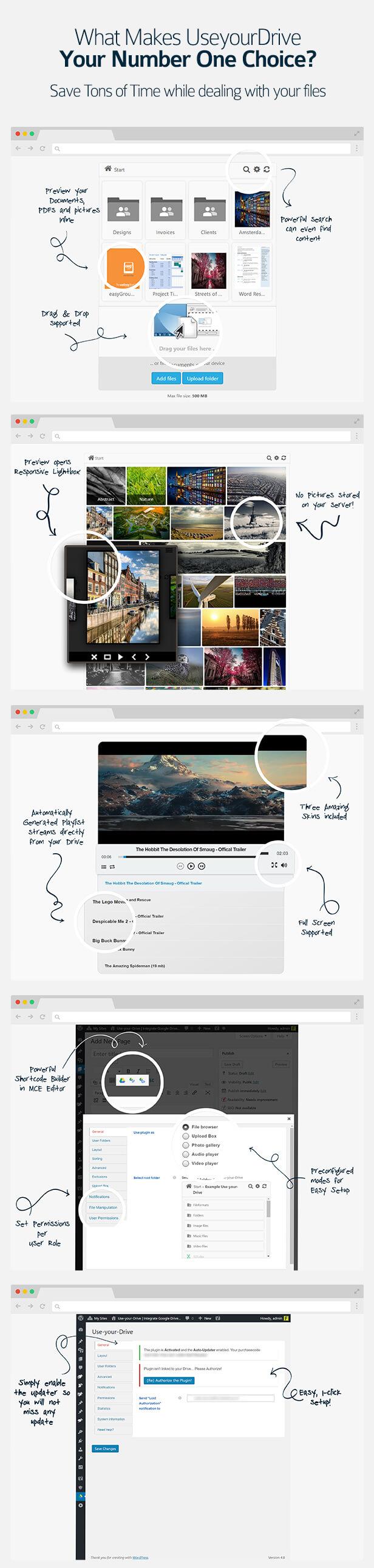 useyourdrive5 - Use-your-Drive | Google Drive plugin for WordPress