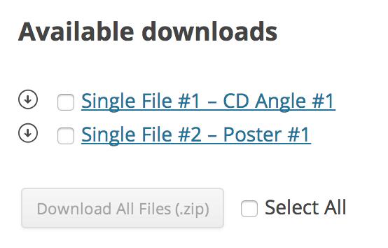 wc bulk download interface - WooCommerce Bulk Download