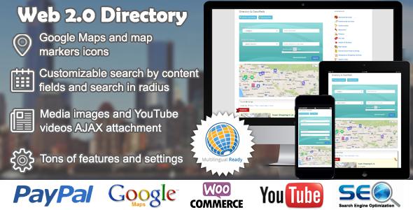 web - Web 2.0 Directory plugin for WordPress
