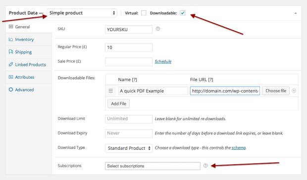 Простота подключения загружаемого продукта к предлагаемому вами продукту подписки.