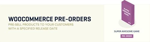 1 - WooCommerce Pre-Orders
