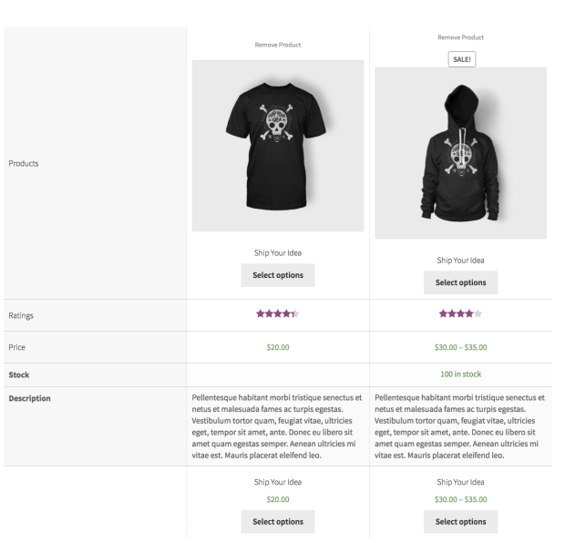 2 10 - WooCommerce Products Compare
